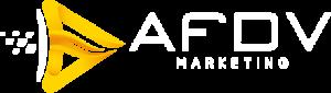 AFDV Logo White Horizontal